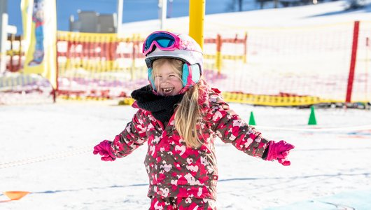 Learning to Ski is fun in Juppi Do Kinderland