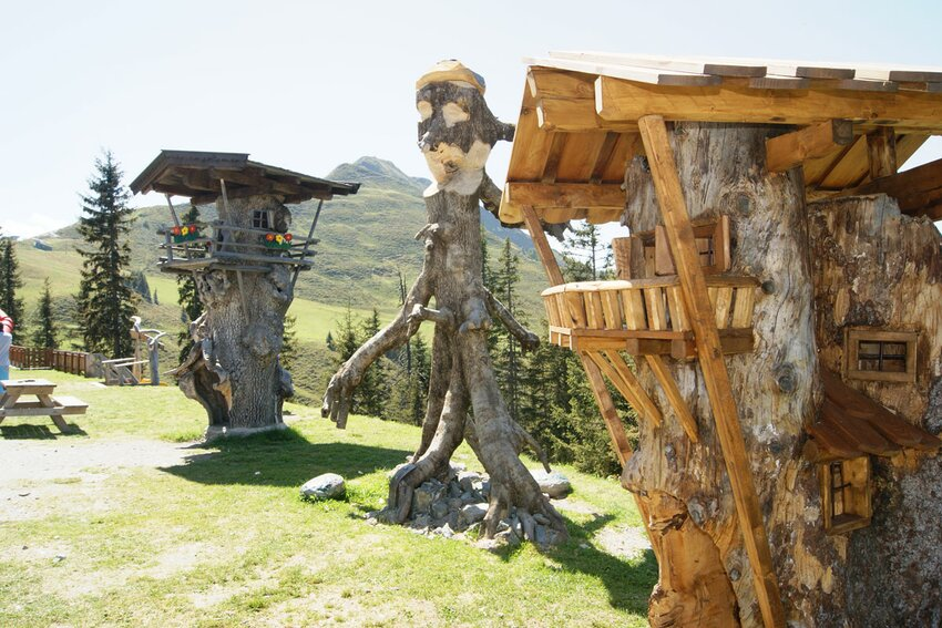 Treehouse in Lauserland