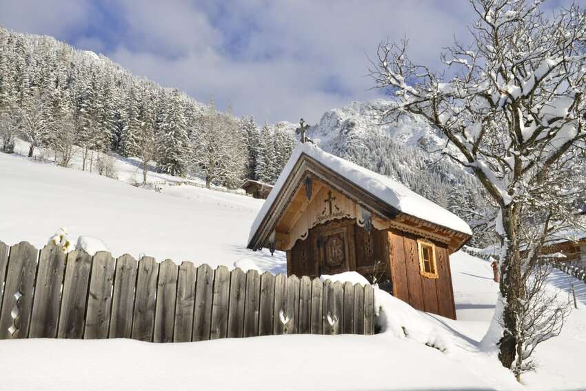 Winterlandscape in Alpbach - Snow