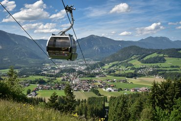 Reitherkogelbahn in the summer
