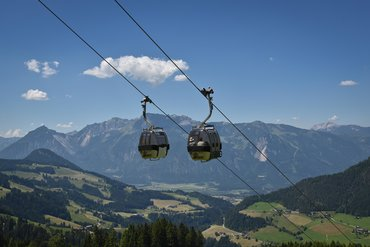 Wiedersbergerhornbahn in the summer